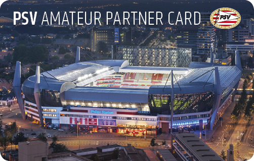 Jouw PSV Amateur Partner Card